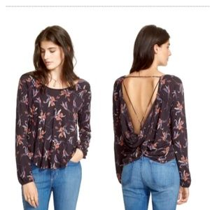 Free People Elsa Open Back top